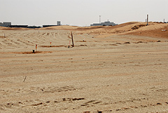 Al Hamra Golf Club - Raising the entire course area to the safe height above sea level